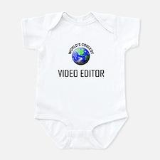 World's Coolest VIDEO EDITOR Infant Bodysuit