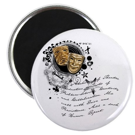 """The Alchemy of Theatre Production 2.25"""" Magnet (10"""