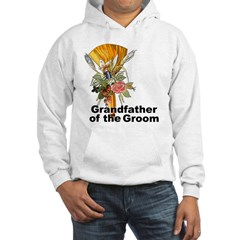 Jumping the Broom Grandfather of the Groom Hoodie