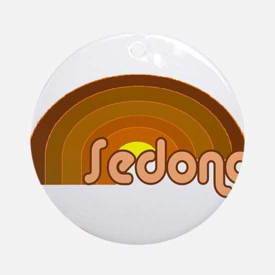 Sedona, Arizona Ornament (Round)