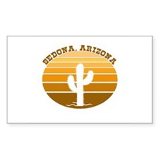 Sedona, Arizona Rectangle Decal