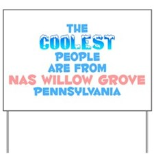 Coolest: NAS Willow Gro, PA Yard Sign