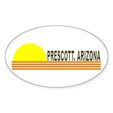 Prescott, Arizona Oval Decal