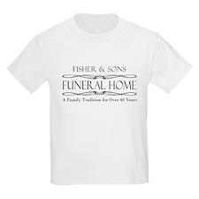 SFU - Fisher & Sons Funeral Home Kids T-Shirt