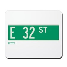 32nd Street in NY Mousepad