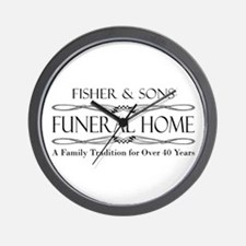 SFU - Fisher & Sons Funeral Home Wall Clock