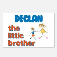 Declan - The Little Brother Postcards (Package of