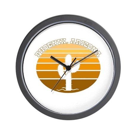 Phoenix, Arizona Wall Clock