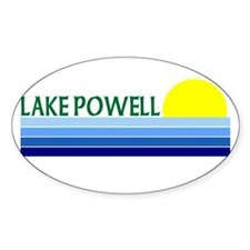 Lake Powell Oval Decal