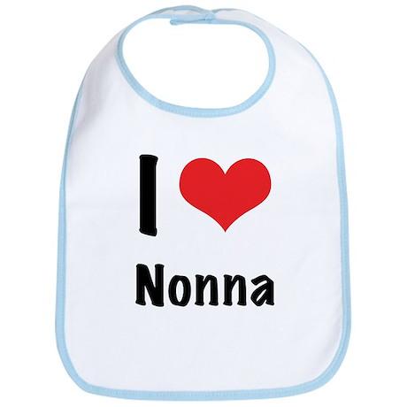 I 'heart' Nonna Bib