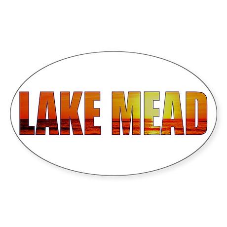 Lake Mead Oval Sticker