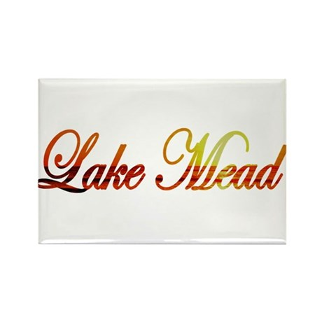 Lake Mead Rectangle Magnet (100 pack)