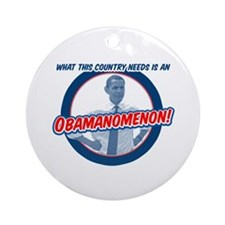 Obamanomenon Ornament (Round)