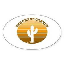 The Grand Canyon Oval Decal