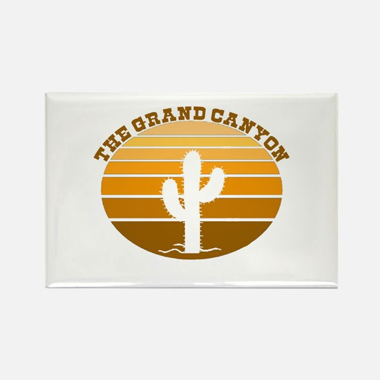 The Grand Canyon Rectangle Magnet