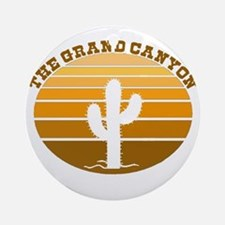 The Grand Canyon Ornament (Round)