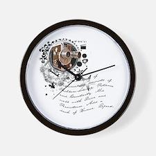The Alchemy of Filmmaking Wall Clock
