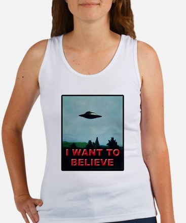 I Want To Believe Women's Tank Top