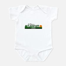 Its Better in Flagstaff, Ariz Infant Bodysuit