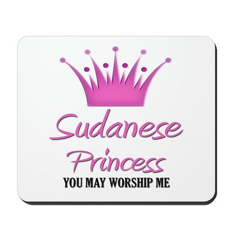 Sudanese Princess Mousepad
