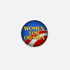 Women for Obama Mini Button