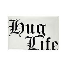 Hug Life Rectangle Magnet