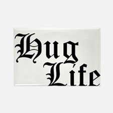 Hug Life Rectangle Magnet