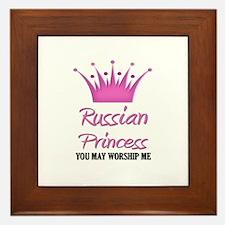 Russian Princess Framed Tile
