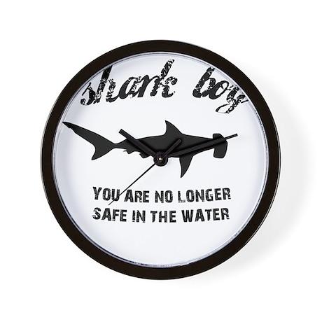 Shark Boy Wall Clock