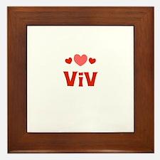 Viv Framed Tile