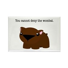 Wombat Rectangle Magnet
