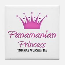 Panamanian Princess Tile Coaster