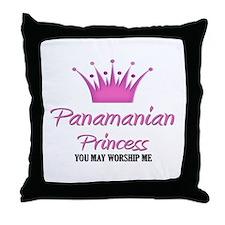 Panamanian Princess Throw Pillow