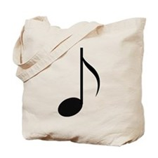 Eighth Note Tote Bag