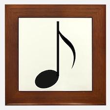 Eighth Note Framed Tile