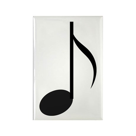 Eighth Note Rectangle Magnet