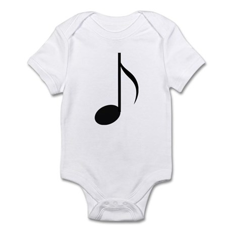 Eighth Note Infant Bodysuit