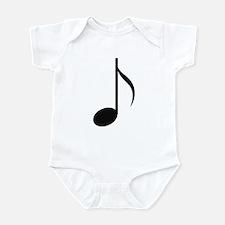 Eighth Note Infant Bodysuit