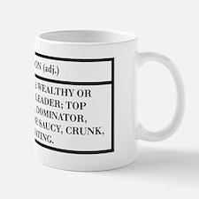 BOSS (WHITE) -- DEFINITION T- Mug