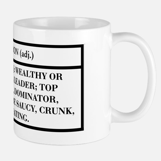 BOSS (WHITE) -- DEFINITION T- Mug