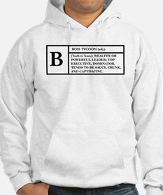 BOSS (WHITE) -- DEFINITION T- Hoodie
