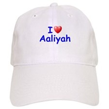 I Love Aaliyah (Blue) Baseball Cap