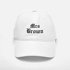 Mrs Brown Baseball Baseball Cap