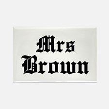 Mrs Brown Rectangle Magnet (10 pack)