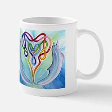 Celtic Heart & Dolphin Mug