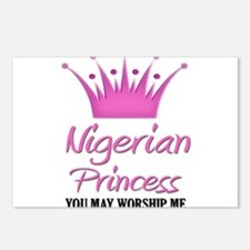 Nigerian Princess Postcards (Package of 8)