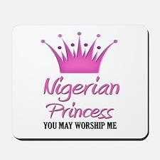 Nigerian Princess Mousepad