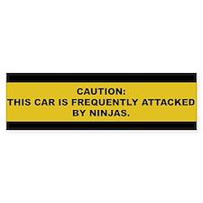 Ninja Bumper Bumper Sticker