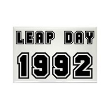 LEAP DAY 1992 Rectangle Magnet