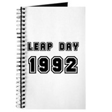 LEAP DAY 1992 Journal